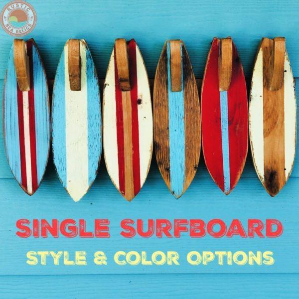 Wood Surfboard Towel Hook Thumbnail