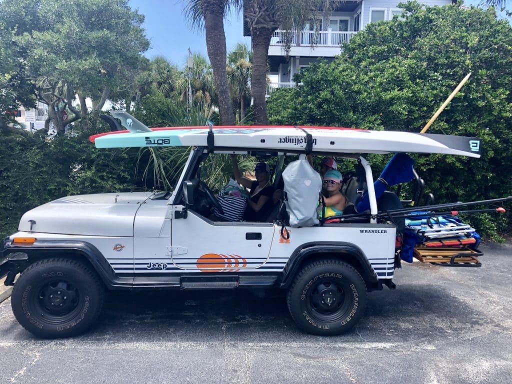 Jeep Wrangler YJ Islander